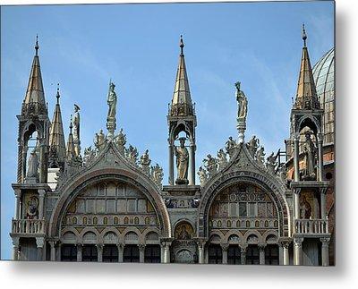 Venetian Architecture. Metal Print by Terence Davis