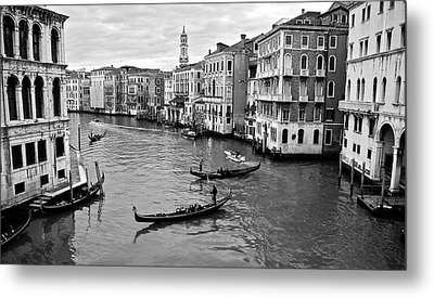 Metal Print featuring the photograph Venezia by Eric Tressler