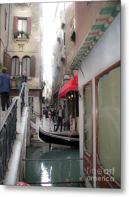 Metal Print featuring the photograph Venice by Leslie Hunziker