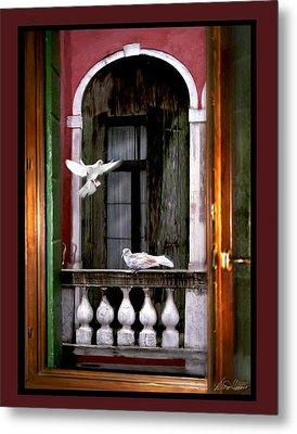 Venice Window Metal Print by Diana Haronis