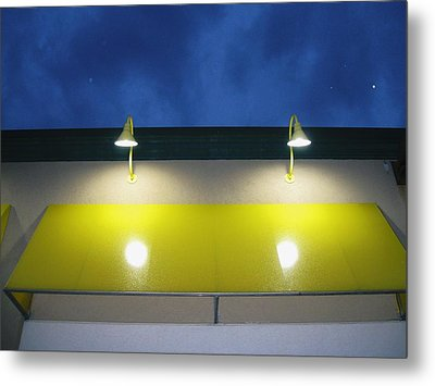 Venus In The Sky Metal Print by Todd Sherlock