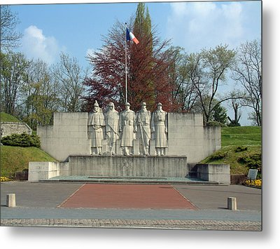 Metal Print featuring the photograph Verdun World War I Memorial by Joseph Hendrix