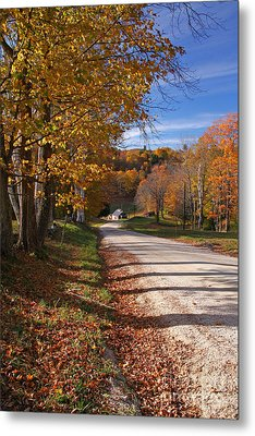 Vermont Sugar House Metal Print by Butch Lombardi