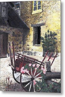 Versailles Peasant Village Metal Print by Inger Hutton