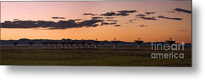 Very Large Array Panorama Metal Print by Matt Tilghman