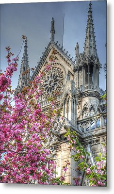 Metal Print featuring the photograph Vibrant Cathedral by Jennifer Ancker
