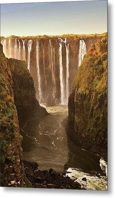 Victoria Falls Metal Print by Rob Verhoeven & Alessandra Magni
