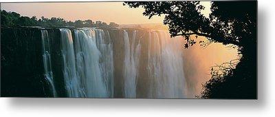 Victoria Falls, Zimbabwe, Africa Metal Print by Jeremy Woodhouse