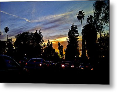 Victory Blvd 4 Metal Print by Russell Jenkins