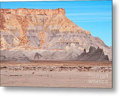 Metal Print featuring the photograph View Along Rt 12 In Utah by Bob and Nancy Kendrick