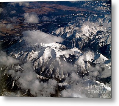 View From Above IIi Metal Print by Patricia Griffin Brett