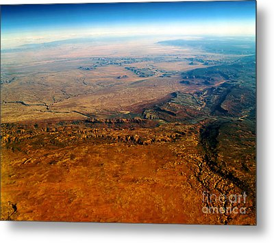 View From Above Vi Metal Print by Patricia Griffin Brett