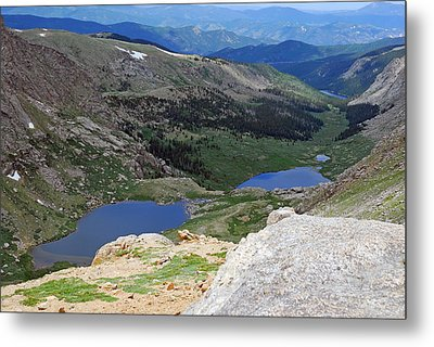 View From Atop Mt. Evans Metal Print