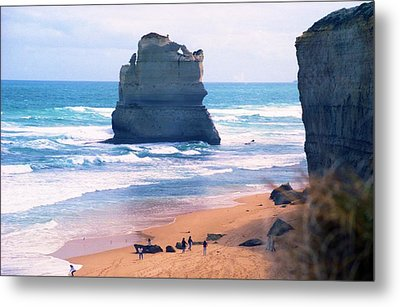 Metal Print featuring the photograph View From Gibson's Steps by Dennis Lundell