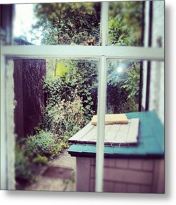 View From My Window, #cambridge #view Metal Print