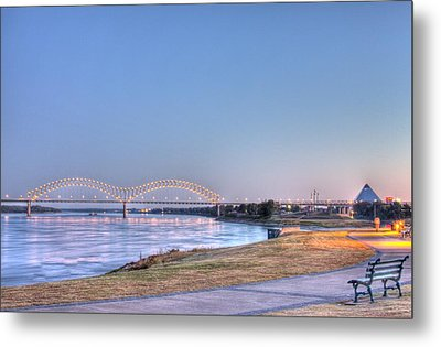 View From The Park Metal Print by Barry Jones