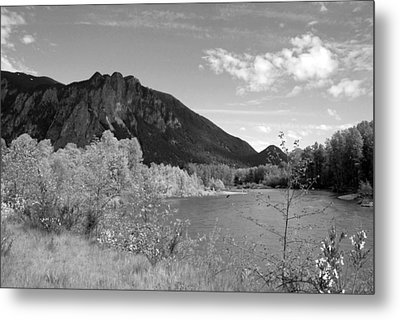 Metal Print featuring the photograph View From The River by Kathleen Grace