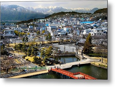 View Fromthe Top Metal Print