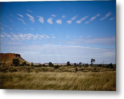 Metal Print featuring the photograph View Into Distance by Carole Hinding