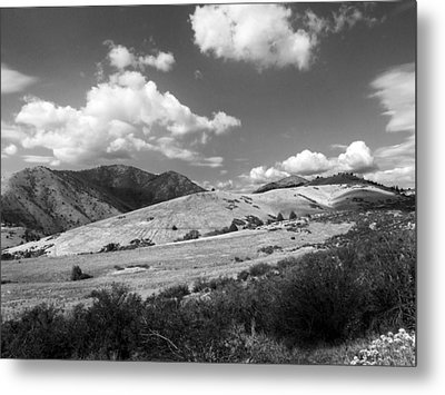 Metal Print featuring the photograph View Into The Mountains by Kathleen Grace