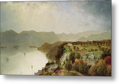 View Of Cozzen's Hotel Near West Point Ny Metal Print