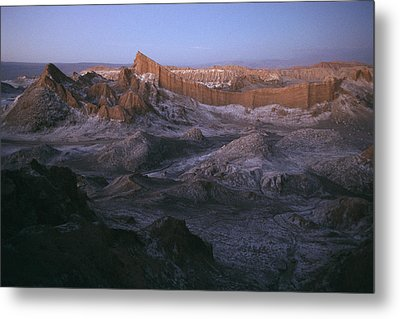 View Of The Valley Of The Moon Metal Print by Joel Sartore
