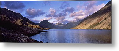 View Of Wastewater, Located In The Lake Metal Print by Axiom Photographic
