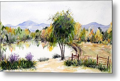 View Outside Reno Metal Print by Vicki  Housel