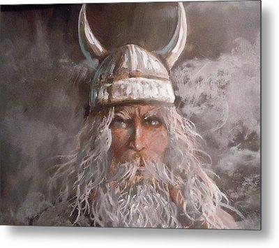 Viking God Metal Print by James Guentner