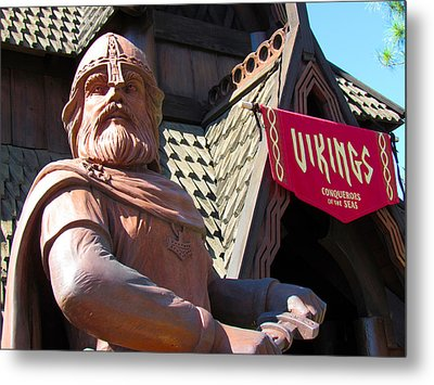 Vikings Conquerors Of The Sea Metal Print