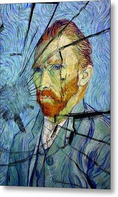 Metal Print featuring the photograph Vincent by Rod Jones