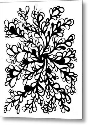 Vines Metal Print by HD Connelly