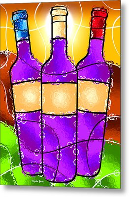 Vino Metal Print by Stephen Younts