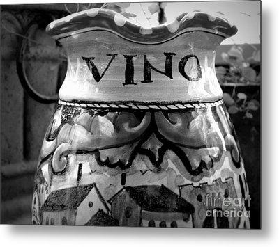 Vino Metal Print by Tanya  Searcy