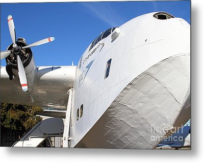 Vintage Boac British Overseas Airways Corporation Speedbird Flying Boat . 7d11273 Metal Print by Wingsdomain Art and Photography