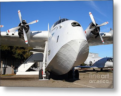 Vintage Boac British Overseas Airways Corporation Speedbird Flying Boat . 7d11275 Metal Print by Wingsdomain Art and Photography
