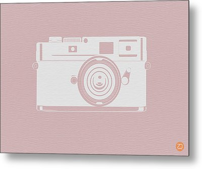 Vintage Camera Poster Metal Print by Naxart Studio