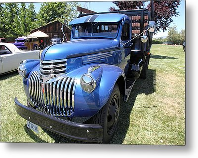 Vintage Chevrolet Delivery Truck . 5d16669 Metal Print by Wingsdomain Art and Photography