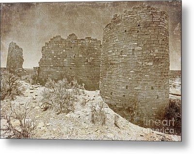 Vintage Hovenweep Castle Metal Print by Bob and Nancy Kendrick