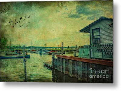 Metal Print featuring the photograph Vintage Vermont Harbor by Gina Cormier