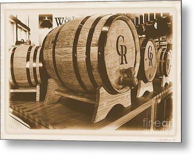 Vintage Winery Photo Metal Print by Marsha Heiken