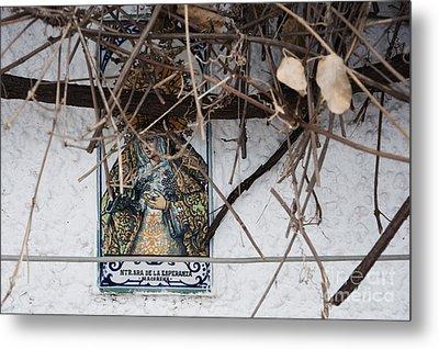 Virgin Mary Of Hope Metal Print by Agnieszka Kubica