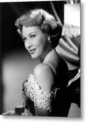 Virginia Mayo, Ca. Early 1950s Metal Print by Everett