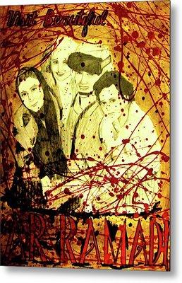 Visit Beautiful Ar Ramadi Metal Print by Michelle Dallocchio