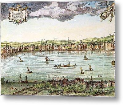 Visscher: London, 1616 Metal Print
