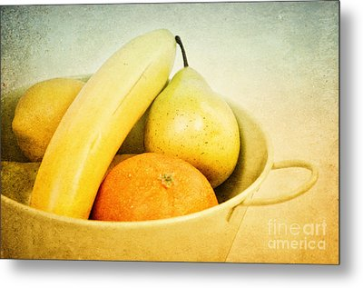 Vitamina Metal Print by Angela Doelling AD DESIGN Photo and PhotoArt