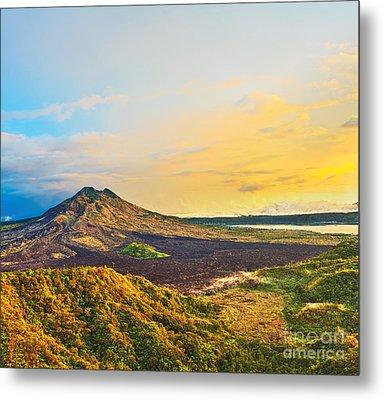 Volcano Batur Metal Print by MotHaiBaPhoto Prints
