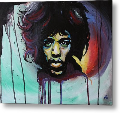 Voodoo Child Metal Print by Matt Burke