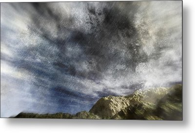 Vortex In The Sky Metal Print by Georgiana Romanovna