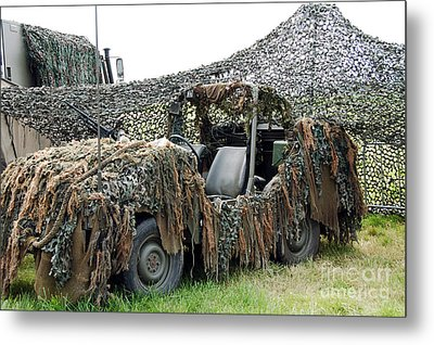 Vw Iltis Of The Special Forces Group Metal Print by Luc De Jaeger